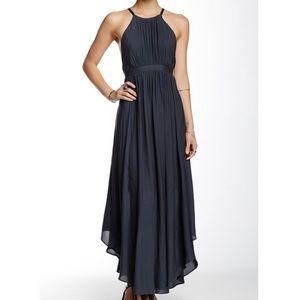 Free People charcoal maxi dress